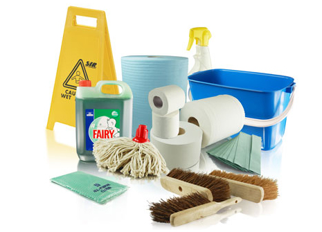 Photo of Cleancare's consumables, chemicals and equipment to hire or purchase
